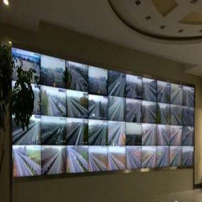 第15届中国高速公路展采用驰森高清液晶拼接屏