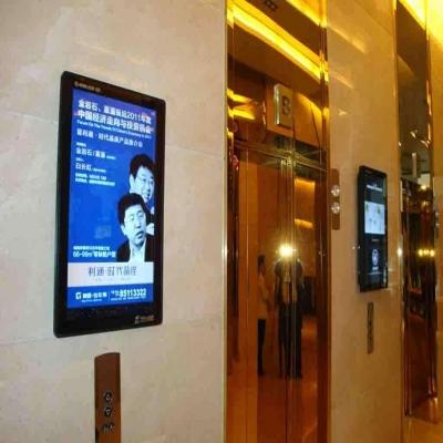 电梯广告机应该如何正确安装?